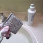 3.いつものように台所洗剤で洗う