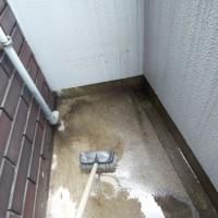 5.水だけで落とせるところまで汚れを落とす