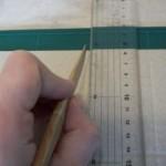 3.後ろ側で強度を出す用の折線をつける