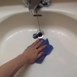 6.水をふき取っっておく