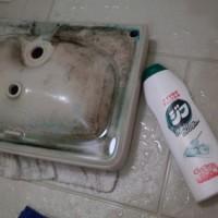 10.次、クレンザーで洗ってみる。