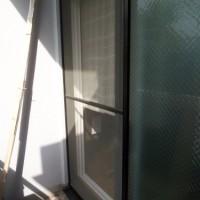 12.掃き出し窓の方は30メッシュにしてみる
