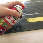 18.石油系溶剤(クレ556)で溶かす方法にしてみる