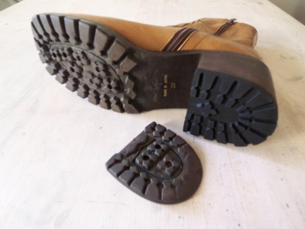 靴底 の修理「タンクソール ...